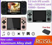 Rg350m Video Games Retro Game Upgraded Hdmi Game Console Ps1 Game 64bit