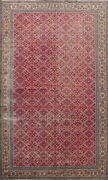 Antique All-over Anatolian Turkish Oriental Area Rug Hand-knotted Wool 7x11 Ft