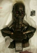 Sideshow T-600 Terminator Salvation Life-size Endoskeleton Bust 11 Scale New