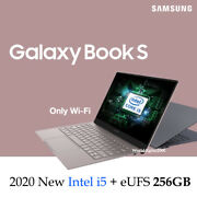 Samsung Galaxy Book S 13.3 Fhd Touch I5 8g Eufs 256g -gray- Only Wi-fi Nt767xcm