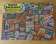 1973 Wacky Packages Picture Jigsaw Puzzle Topps Chewing Gum Jaymar 800-pieces