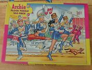 Archie Comic Marching Band Archies Jumbo Floor Jigsaw Puzzle Vintage 1988 Jaymar