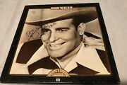 Leon Rausch Signed In Person Bob Wills Time Life 3 Disc Box Set Texas Swing Lp