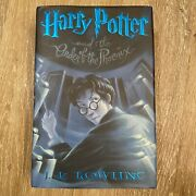 Harry Potter And The Order Of The Phoenix First American Edition Print July 2003