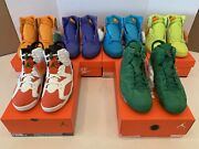 Nike Air Jordan Gatorade Complete Collection Retro 1 And 6 Size 10.5 New Ds Rare