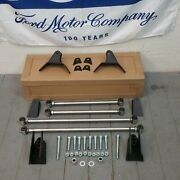 1961-64 Ford F Series Pickup Truck F-100 Rear Suspension Four 4 Link Kit Chrome