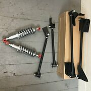 Triangulated Rear 4 Link And Coilovers 40 1940 Ford Convertible Hot Rod V8 Pro Rat