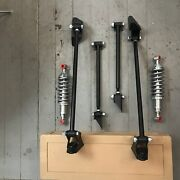 Triangulated Rear 4 Link And Coilovers 47 1947 Ford Delivery Rod Street Hot V8 Rat