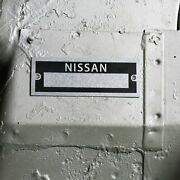 Jdm Vehicle Data Plate Serial Number Id Tag 240sx S21 R30 300zx Skyline Z-car