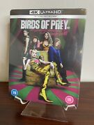 Birds Of Prey Limited Edition Steelbook 4k Uhd+blu-ray Factory Sealed Rare