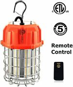 100w 150w Led Temporary Work Light Fixture Remote Control Construction Drop Lamp