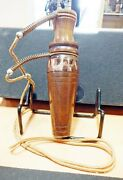 Vintage 1978 Royal Game Call Walnut Copper Band Duck Call W/ Lanyard