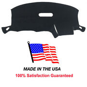 Chrysler Town And Country 2001-2007 Black Carpet Dash Board Cover Mat Pad Do45.1-5