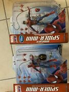 Marvel Select Disney Store Spiderman 2 Spiderman With Unmasked Spiderman