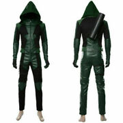 Green Arrow Season 8 Oliver Queen Cosplay Costume Any Size !a
