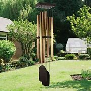 Large Wind Chimes Outdoor Deep Tone, 48 Inch Amazing Grace Sympathy 5 Big Tubes