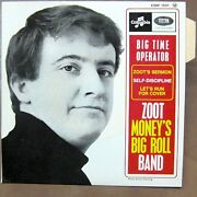 Zoot Moneyand039s Big Roll Band Big Time Operator Ep Rare French Ps Mint/mint