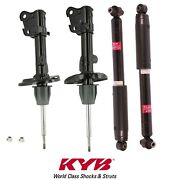 4 Kyb Excel-gandreg Shock Absorbers Struts 2-front And 2-rear For Acura Mdx 2007 - 2011