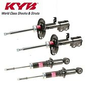 For Toyota Corolla 14-16 Complete Front And Rear Strut Assembly Kit Kyb Excel-g