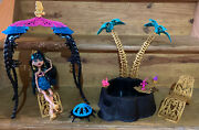 Monster High 13 Wishes Desert Fright Oasis Playset W/ Cleo Denile Doll