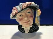 Large Pearly Queen Royal Doulton Toby Jug D6759 Rare Collectible Christmas Gift