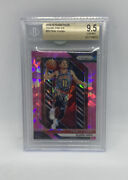 2018-19 Panini Prizm Trae Young Pink Ice 78 Bgs 9.5 Rookie Rc 🧀