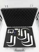 Video Laryngoscope W/ Rechargeable Battery Includes Complete Set Of 6 Blades
