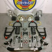 37-41 Chevy Car Mustang Ii Ifs Coil Over 2 Drop 5x4.75 Manual Steer Rack