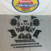 1955-57 Chevy Belair Triangulated Rear Suspension 4-link Air Ride Kit 210 Nomad