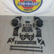 67-72 Chevy Truck C10 C15 Ls Triangulated Rear 4 Link Air Ride Suspension Kit V8