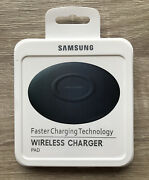 Samsung Genuine Fast Charger Pad Wireless Qi Charging For Samsung, Iphone -black