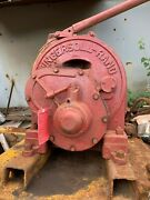 Ingersoll-rand Utility Hoist - Model K4u - Air Tugger Winch W/ Drum And Cable