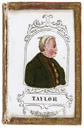 1848 Presidential Campaign Zachary Taylor Portrait Forget Me Not Patch Box