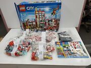 Lego City Fire Station 60110 New Open Box See Pics