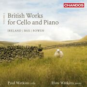 Watkins Paul And Huw - British Works For Cello And Piano Vol. 3