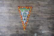 Vintage Original Spain 1982 World Cup And039braziland039 Football Pennant.