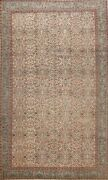 Antique Floral Anatolian Turkish Hand-knotted Area Rug Home Decor 6x9 Ft Carpet