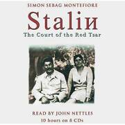 Stalin The Court Of The Red Tsar - Audio Cd By Sebag Montefiore Simon - Good