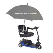 Universal Grip Umbrella Holder For Mobility Scooter Power Chair And Wheelchair
