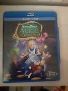 Alice In Wonderland Blu-ray Disc Only. No Dvd 1951 60th Anniversary Edition