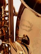 Chateau Alto Saxophone Professional Model Cognac Color With 85 Tya-900