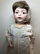 24andrdquo Antique German Simon And Halbig K Star R 122 Baby Bisque And Compo Doll Sc4