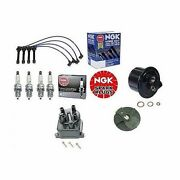 Tune Up Kit Gas Filter Cap Rotor Ngk Wires And Plugs For Civic Ex Si D16z6 V-tec