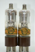 1603 Tube Pair Nos Fivre Italy Engraved Vintage Valve Amplifier 310a We Amp Rare