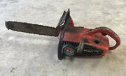 Vintage Homelite 150 Automatic Chainsaw Chain Saw With Bar/chain - Parts Saw