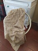 Handmade Cotton Bedspread Coverlet Lace Crochet Bed Cover Vintage Country Rustic