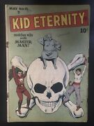 Kid Eternity 15 1949 First Printing Original Quality Comic Book 100 Complete