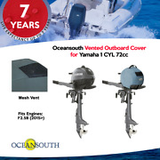 Oceansouth Vented / Running Cover For Yamaha Outboards 1 Cyl 72cc
