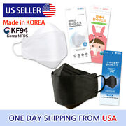 Min 0.79 Per 1pc Black Kf94 Face Mask Breathable Disposable Protective