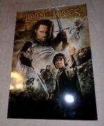 Rare, The Lord Of The Rings A 12 - Month 2005 Movie Poster Calendar